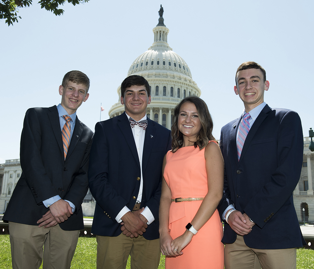2018 Washington Youth Tour Representatives