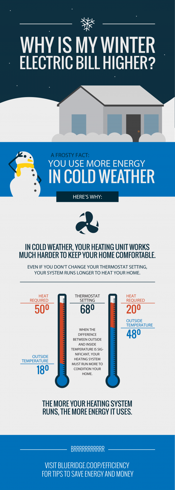 Winter Bill Infographic