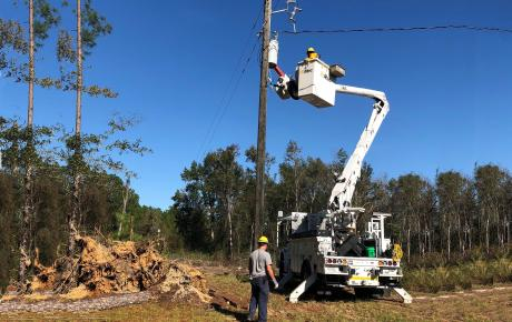 SC Lineworkers Assist